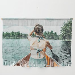 Row Your Own Boat #illustration #decor #painting Wall Hanging