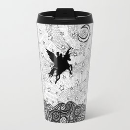 Flight of the alicorn Travel Mug