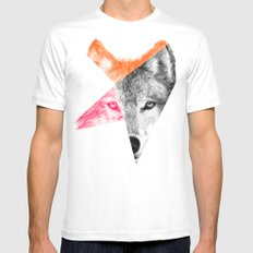 Wild by Eric Fan & Garima Dhawan White MEDIUM Mens Fitted Tee