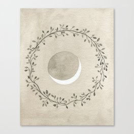 Crescent and Wreath Canvas Print