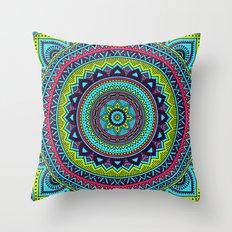 Hippie Mandala 18 Throw Pillow