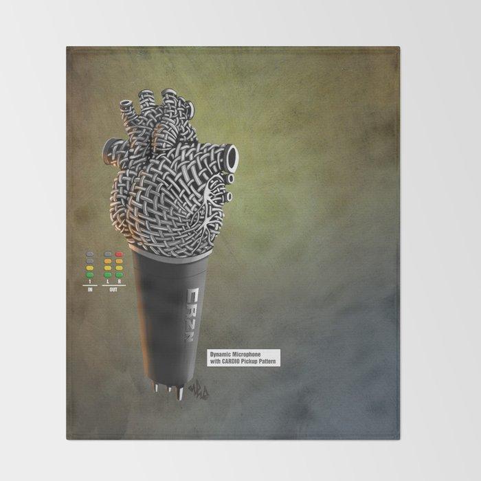 CRZN Dynamic Microphone - 003 Throw Blanket