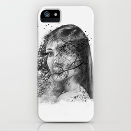 The beautiful mutation iPhone Case