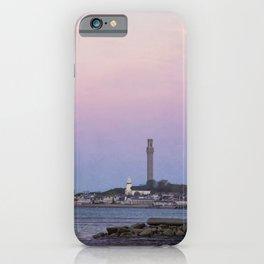 Purple Dawn, Provincetown iPhone Case