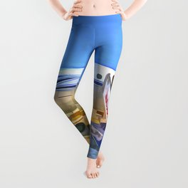 Pop Art Airliner Leggings