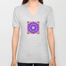 Elevation Mandala Redux - The Mandala Collection Unisex V-Neck