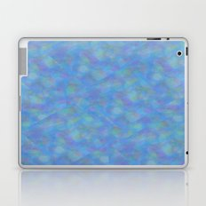 Soft Blue Cubism Abstract Laptop & iPad Skin