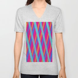 Candy Twist Unisex V-Neck