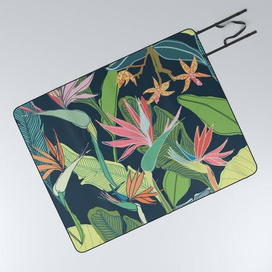 Tropical Bird of Paradise by limezinniasdesign