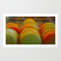 macarons Art Prints featuring Macarons by Chee Sim