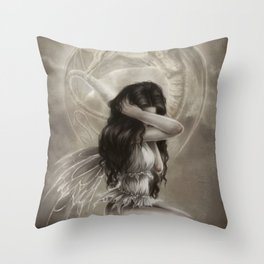 We Are Just Ghosts Throw Pillow