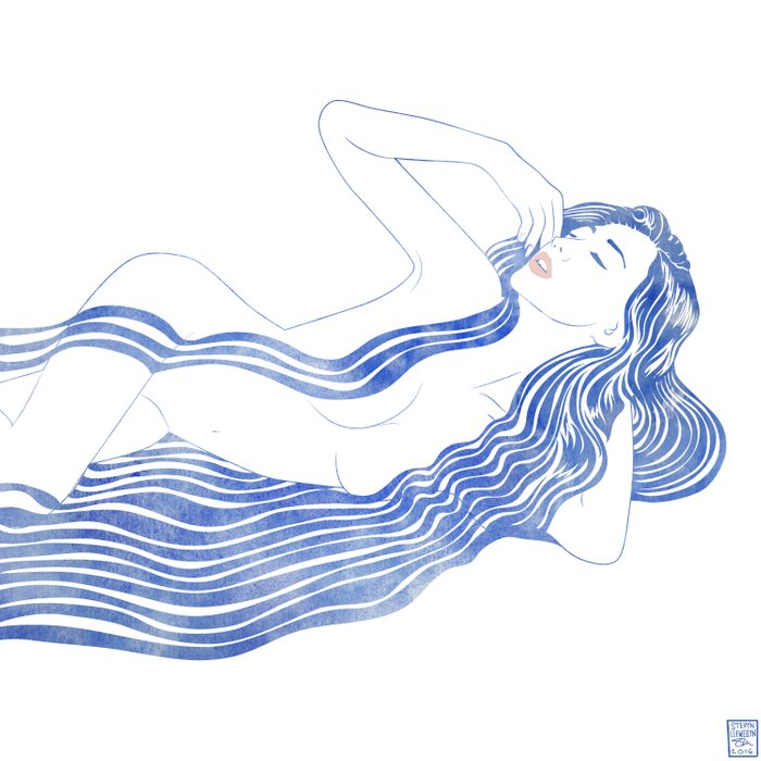 Water Nymph XXXVI Comforters