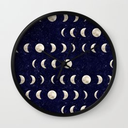 Moon Phase - Galaxy Wall Clock