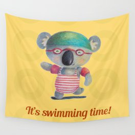 Swimming Time Wall Tapestry