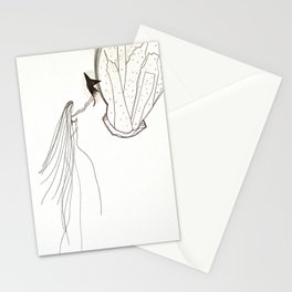 Barking up the wrong tree Stationery Cards