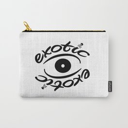 Exotic Eye emblem Carry-All Pouch