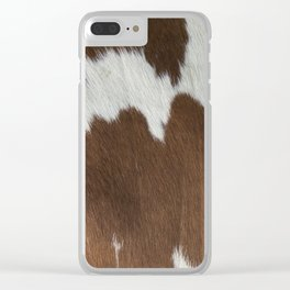 Cowhide v2 Clear iPhone Case