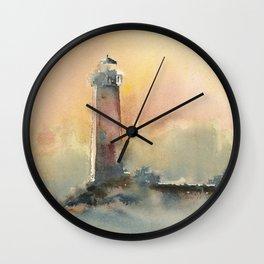 Manistique Light Wall Clock