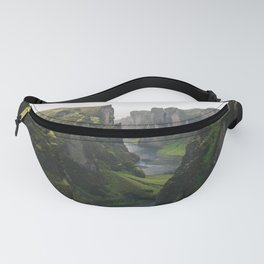 Iceland Green Nature Fanny Pack