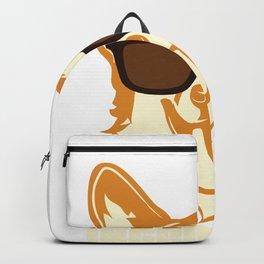 Incorgnito product Funny Vintage Corgi Lover Dog Pun Gift Backpack