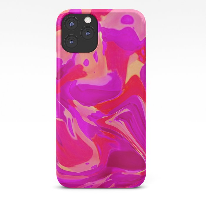 Tulip Tangle iPhone Case