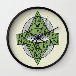 You don't always need a plan - just go Wall Clock