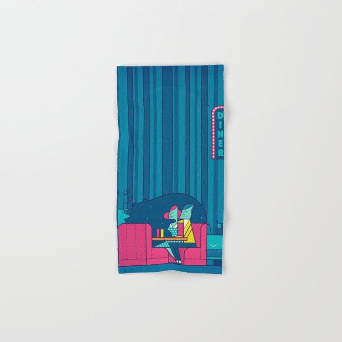 Diner Hand & Bath Towel