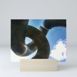 Metal Curve II Mini Art Print