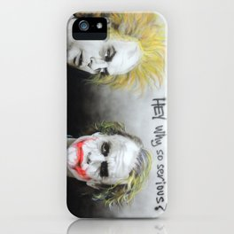 'Hey, Why So Serious?' iPhone Case