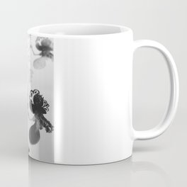 black and white floc Coffee Mug