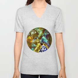 THE ANGELS CALL YOUR NAME Unisex V-Neck
