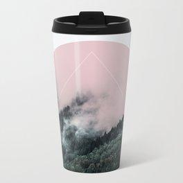Foggy Woods 2 Metal Travel Mug