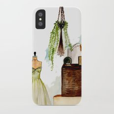 Vintage scene Slim Case iPhone X