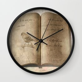 Just Fly... Wall Clock