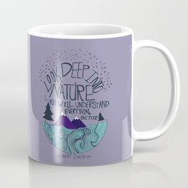 Einstein: Nature II Coffee Mug