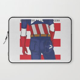 BORN IN THE USA Laptop Sleeve