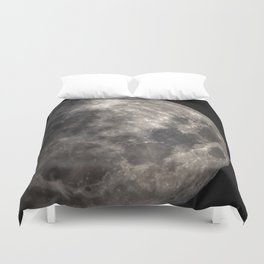 Full Harvest moon Duvet Cover