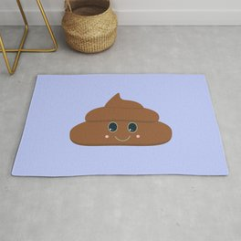 Happy poo Rug