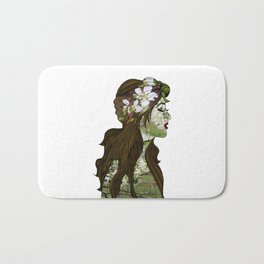 April in the Apple Blossoms Bath Mat
