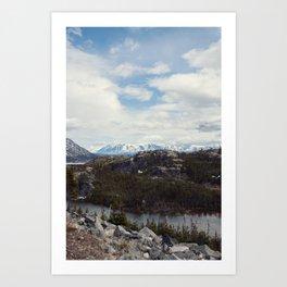 The Yukon Art Print