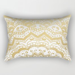 GOLD ORION JEWEL MANDALA Rectangular Pillow
