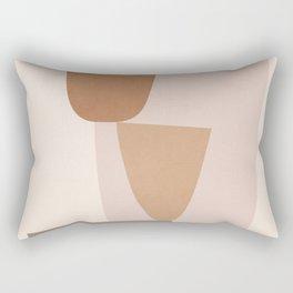abstract minimal 25 Rectangular Pillow