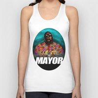 biggie smalls Tank Tops featuring Biggie Smalls for Mayor by Tom Brodie-Browne