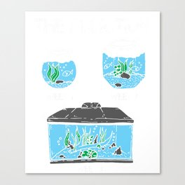 Aquarium Aquarist Fish Lover Fishkeeping  Canvas Print