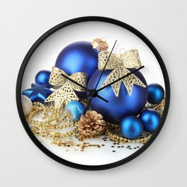 Christmas Ornaments 2 Wall Clock