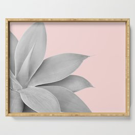 Agave Finesse #5 #tropical #decor #art #society6 Serving Tray