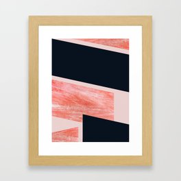 iNDULGE & vICE Framed Art Print
