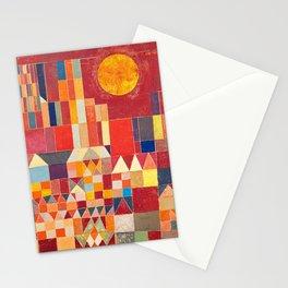 Burg und Sonne 1928 - Paul Klee Stationery Cards