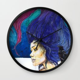 drowning in resentment Wall Clock