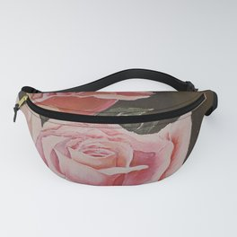 Blooming Rose Fanny Pack